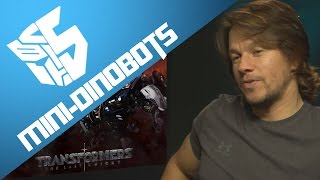 Mark Wahlberg Talks About Mini-Dinobots And TF6 - [TF5 NEWS]