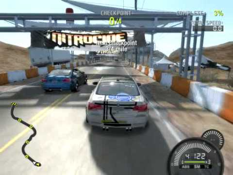 Need for Speed ProStreet Pc Demo Gameplay 8500GT