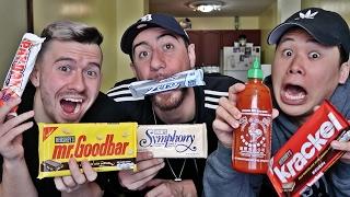 Taste Testing American Snacks!!