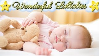 Hush Little Baby ♥♥♥ 2 Hours Super Relaxing and Soothing Baby Bedtime Lullaby ♫♫♫ Sweet Dreams Music
