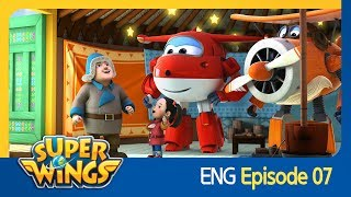 [Super Wings] EP 07 - Mongolian Stars(ENG)