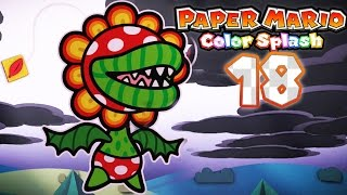 Paper Mario: Color Splash - Part 18: Plum Park! (Petea Piranha Battle)