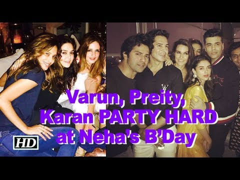 Xxx Mp4 Varun Preity Karan BLASTS At Neha Dhupia's B'Day Bash 3gp Sex