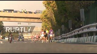 Iran: First ever International Iranian marathon held in Tehran