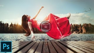 How To Creating 3D Photo in Photoshop For Facebook Uploading in Hindi/Urdu