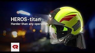 HEROS-titan firefighting helmet - Rosenbauer