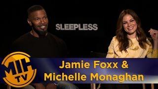 Jamie Foxx & Michelle Monaghan Interview Sleepless