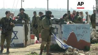 West Bank / Israel / Gaza Strip - 2 Palestinians killed after stabbing Israelis / Clashes between Is