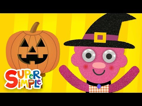 Can You Make A Happy Face? | Halloween Song | Super Simple Songs
