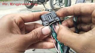 ECM Circuit - Wiring Diagram ECU Beat EsP || Menbaca warna kabel soket ECU/ECM Honda Beat Injeksi