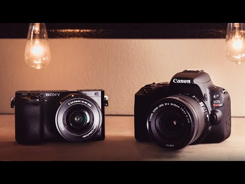 Best Camera for Beginners Sony vs Canon 2018 Edition