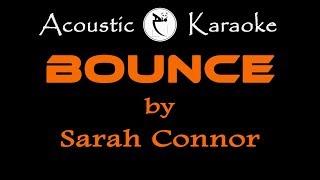 SARAH CONNOR-BOUNCE-(KARAOKE VERSION)