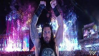 ROMAN REIGNS VS UNDERTAKER: NO HOLDS BARRED MATCH - WRESTLEMANIA 33 (WWE 2K17)