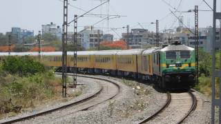 Mumbai - Goa Tejas Express   First Tejas Express of Indian Railways   Luxurious High Speed Train