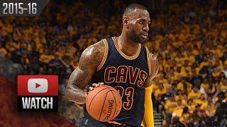 LeBron James Full Game 1 Highlights at Warriors 2016 Finals - 23 Pts, 12 Reb, 9 Ast