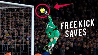 Top 10 Best Free Kick Saves In Football