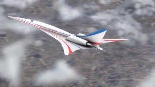 Quiet Supersonic X-plane to Be Designed