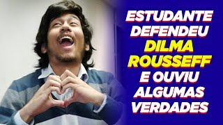 Petista defensor de Dilma toma invertida histórica.