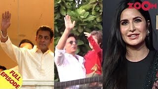 Salman & Shah Rukh Khan greet fans on Eid   Bharat movie