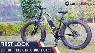 LECTRO Electric Bicycles - First Look - NDTV CarAndBike