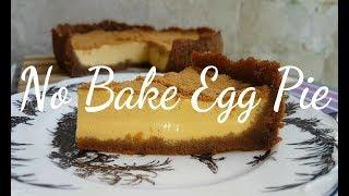 No Bake Egg Pie
