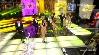 111224 Sistar - Ma boy on 2011 KBS Entertainment Awards