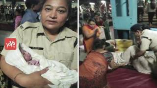 A 25-Year-Old Woman Delivers Baby Boy at Thane Railway Station   YOYO TV Channel