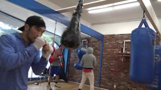 king tug 7-0 7 kos of mongolia working out EsNews Boxing