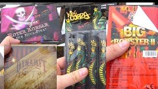 Böller Test - King Cobra, Roter Korsar, Vipers und Kollegen