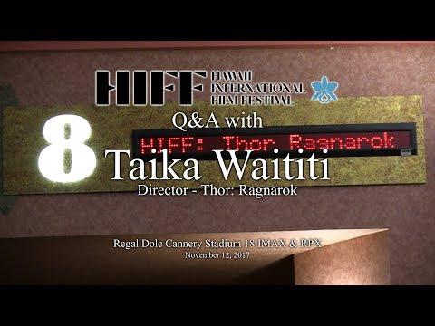 Xxx Mp4 HIFF 2017 Q Amp A With Taika Waititi Director Of Thor Ragnarok 3gp Sex