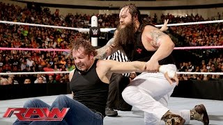 Roman Reigns, Dean Ambrose & Seth Rollins vs. The Wyatt Family: Raw, October 19, 2015