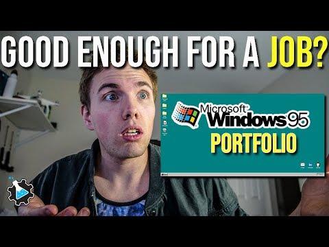 Xxx Mp4 Can You Get A Job With These REAL Portfolios Windows 95 Portfolio 3gp Sex