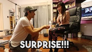Her Reaction was PRICELESS!