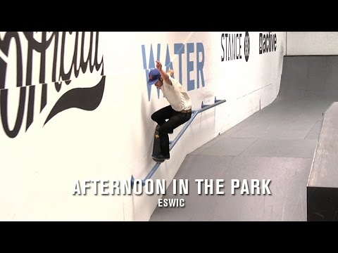 Afternoon in the Park: eswic - TransWorld SKATEboarding