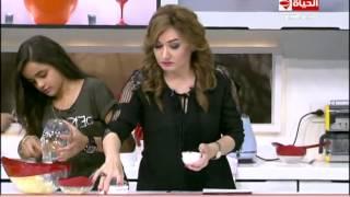 """برنامج المطبخ - سلطة البطاطس """" مسابقة الطبخ بين الأولاد والبنات """"- الشيف آيه حسني - Al-matbkh"""