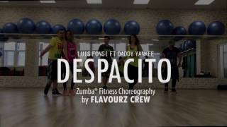 DESPACITO - Luis Fonsi Ft Daddy Yankee  -  Zumba Choreo by FlavourZ Crew