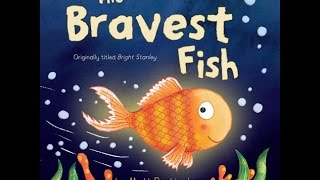 THE BRAVEST FISH Read Along Aloud Story Book for Children Kids