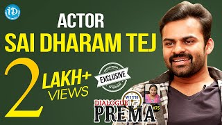 Sai Dharam Tej Exclusive Interview || Dialogue With Prema || Celebration Of Life #75