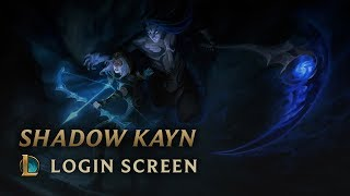 Shadow Kayn | Login Screen - League of Legends