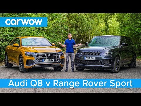 Audi Q8 vs Range Rover Sport 2019 see which SUV is the best carwow