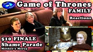 Game of Thrones FAMILY Reactions 510 | SHAME Parade
