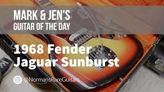 Norman's Rare Guitars - Guitar of the Day: 1968 Fender Jaguar Sunburst