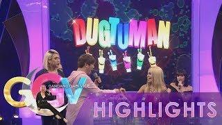 "GGV: Vice Ganda, Ethel Booba and K Brosas for ""Dugtuman Challenge"" Round 1"