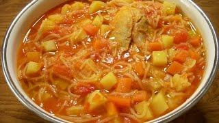 سوپ ورمیشل Chicken Noodle Soup | Soup Vermishel