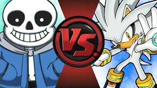 SANS vs SILVER! Cartoon Fight Club Episode 60