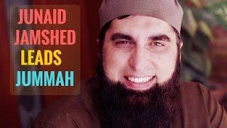 Junaid Jamshed leads his final Friday Prayer (رحمه الله)