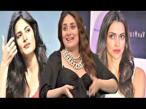 Koffee With Karan 5 - Kareena Kapoor Takes Dig At Ranbir Kapoor Exes Katrina Kaif & Deepika Padukone