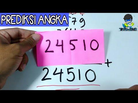 Trik sulap angka dijamin bikin janggut temenmu turun (prediksi angka) #TukangTrik