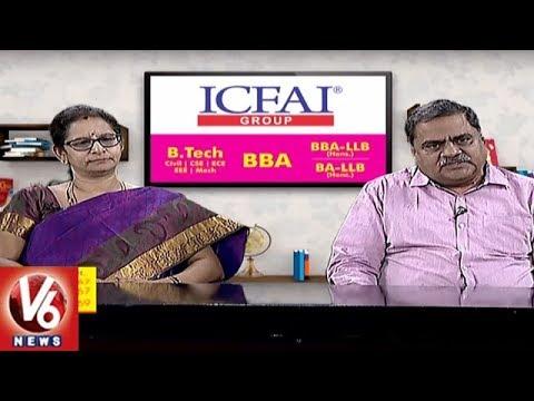 Career Point Choosing BBA LLB Courses ICFAI University l V6 News