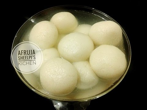 Sponge Rosgolla/ স্পঞ্জ রসগোল্লা// Bangladeshi Sponge Misti Recipe